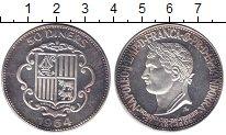 Изображение Монеты Андорра 50 динер 1964 Серебро Proof-