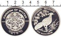 Изображение Монеты Бутан 300 нгултрум 1994 Серебро Proof-