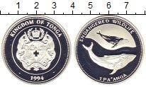 Изображение Монеты Тонга 1 паанга 1994 Серебро Proof-