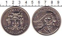 Изображение Монеты Ямайка 10 долларов 1976 Медно-никель UNC Адмирал  Нельсон