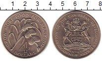 Изображение Монеты Антигуа и Барбуда 4 доллара 1970 Медно-никель UNC