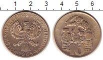 Изображение Монеты Польша 10 злотых 1965 Медно-никель XF ПРОБА