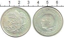 Изображение Монеты Тунис 1 динар 1970 Серебро UNC