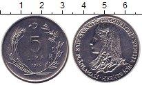 Изображение Монеты Турция 5 лир 1979 Железо UNC