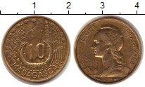 Изображение Монеты Мадагаскар 10 франков 1953  XF