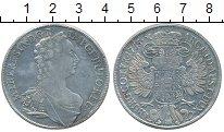Изображение Монеты Австрия 1 талер 1755 Серебро XF Мария  Тереза
