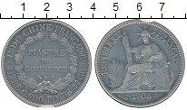 Изображение Монеты Индокитай 1 пиастр 1903 Серебро XF