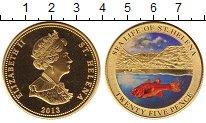 Изображение Монеты Остров Святой Елены 25 пенсов 2013 Латунь Proof