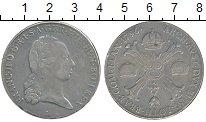 Изображение Монеты Нидерланды 1 талер 1796 Серебро XF Австрийские Нидерлан
