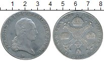 Изображение Монеты Нидерланды 1 талер 1795 Серебро XF Австрийские Нидерлан