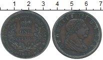 Изображение Монеты Эссекуибо и Демерара 1 стюйвер 1813 Медь XF Георг III
