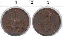 Изображение Монеты Данциг 1 пфенниг 1929 Бронза XF