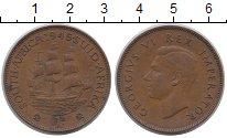 Изображение Монеты ЮАР 1 пенни 1945 Бронза XF