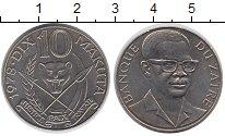 Изображение Монеты Конго Заир 10 макута 1978 Медно-никель UNC