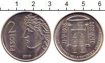 Изображение Монеты Аргентина 2 песо 2010 Медно-никель UNC-