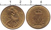 Изображение Монеты Сан-Марино 200 лир 1979 Латунь XF
