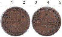 Изображение Монеты Германия Мюнстер 3 пфеннига 1760 Медь VF
