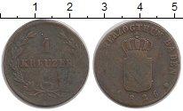 Изображение Монеты Германия Баден 1 крейцер 1826 Медь