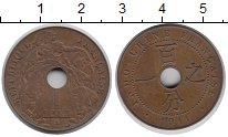 Изображение Монеты Индокитай 1 цент 1911 Медь XF Протекторат  Франции