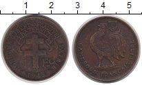 Изображение Монеты Камерун 1 франк 1943 Медь VF Протекторат  Франции