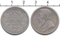 Изображение Монеты ЮАР 1 шиллинг 1894 Серебро XF