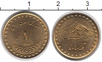 Изображение Монеты Иран Иран 1371 Латунь UNC-