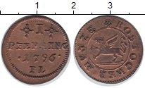 Изображение Монеты Росток 1 пфенниг 1796 Медь VF