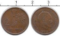 Изображение Монеты Мозамбик 2 сентима 1975 Медь XF