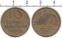 Изображение Монеты Данциг 10 пфеннигов 1932 Латунь VF