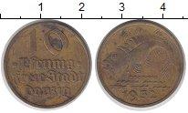 Изображение Монеты Польша Данциг 10 пфеннигов 1932 Латунь VF