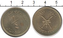 Изображение Монеты Оман 1/4 риала 1980 Латунь UNC-