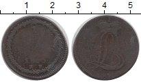 Изображение Монеты Гессен-Дармштадт 1/2 стюбера 1805 Медь VF