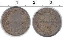 Изображение Монеты Колумбия 1 сентаво 1921 Алюминий VF