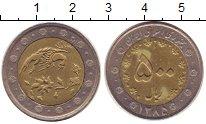 Изображение Монеты Иран 500 риалов 2006 Биметалл XF