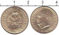 Изображение Монеты Гаити 5 центов 1975 Медно-никель XF