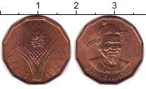 Изображение Монеты Свазиленд 1 цент 1975 Медь UNC-