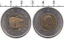 Изображение Монеты Канада 2 доллара 1996 Биметалл XF Елизавета II