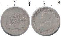 Изображение Монеты Австралия 6 пенсов 1916 Серебро VF Георг V
