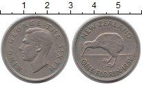 Изображение Монеты Новая Зеландия 1 флорин 1951 Медно-никель XF