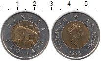 Изображение Монеты Канада 2 доллара 1996 Биметалл XF