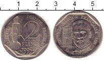 Изображение Монеты Франция 2 франка 1995 Медно-никель XF