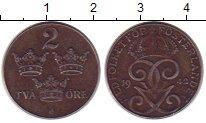 Изображение Монеты Швеция 2 эре 1942 Железо XF