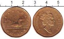 Изображение Монеты Канада 1 доллар 1993 Латунь XF