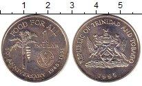 Изображение Монеты Тринидад и Тобаго 1 доллар 1995 Медно-никель XF