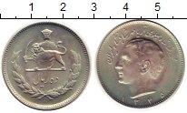 Изображение Монеты Иран 10 риалов 1966 Медно-никель XF
