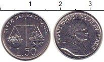 Изображение Монеты Ватикан 50 лир 1992 Железо XF