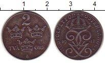 Изображение Монеты Швеция 2 эре 1947 Железо XF