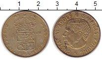 Изображение Монеты Швеция 1 крона 1954 Медно-никель XF