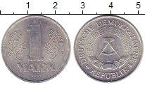 Изображение Монеты ГДР 1 марка 1982 Алюминий XF