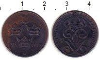 Изображение Монеты Швеция 2 эре 1943 Железо XF